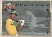 1993 Upper Deck Rickey Henderson #TN3 Baseball Card