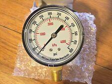 "2 1/2"" Pressure Gauge, 0-600 PSI"