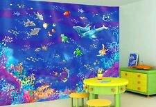 Fishies-Wall Mural-10.5'wide by 8'high