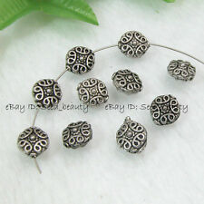 50pcs Bali Style Alloy Metal Spacers Jewelry 11mm