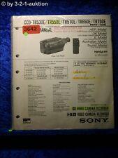 Sony Service Manual CCD TR530E /550E /570E /650E /750E Video Camera (#3642)