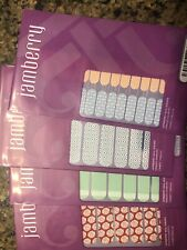 Jamberry Nail Wraps - Lot #11:Wild West Jr, So Fresh, Cabana, Aug 15 Host Excl