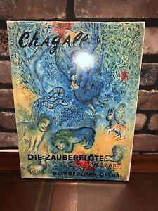 DIE ZAUBERFLOTE Mozart Metropolitan Opera Chagall The Murals Reproductions Book