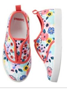 New Gymboree Youth Girls Tropical Breeze Tennis Shoes Sz 2