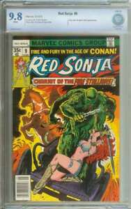RED SONJA #9 CBCS 9.8 WHITE PAGES