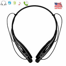 Neckband Bluetooth Headset Noise Cancelling Headphones For Samsung iPhone ASUS