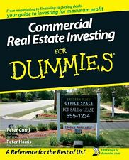 Commercial Real Estate Investing For Dummies - P.D.F. DIGITAL COPY