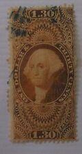 US Stamp Revenue R77C Used Cat $85.00