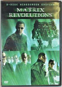 The Matrix Revolutions (DVD, 2009, 2-Disc Set, Widescreen) - Pre-Owned