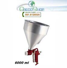 Spruzzatore aereografo ad aria compressa per intonaco/malte 6000ml