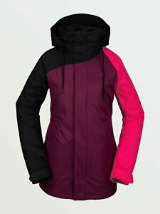 Brand New Women's 2021 Volcom Westland Insulated Snow Jacket Vibrant Purple