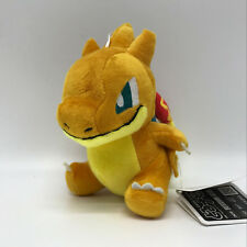 """Pokemon Sun/Moon Plush Mega Charizard Y #006 Soft Toy Stuffed Doll Teddy 6.5"""""""