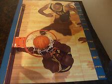 Michigan Basketball---Fab 5---Chris Webber & Juwan Howard---Poster---17x22--XHTF