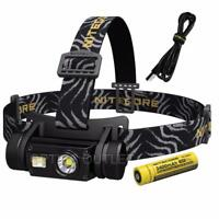 NITECORE HC65 1000 Lumen White/Red/High CRI Output LED Rechargeable Headlamp