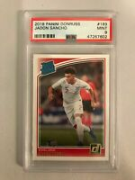 2018-19 Panini Donruss Soccer Jadon Sancho Rated Rookie England PSA 9 🔥 Low POP