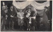 9292) CASTEL S. PIETRO DELL'EMILIA, (BOLOGNA9 13/6/1928. VISITA DEL RE E REGINA
