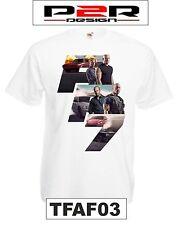 T-shirt Maglia Fast and Furious 7 vin diesel paul walker film movie tv TFAF03