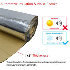 Car Insulation Thermal Sound Deadener Mat Road & Engine Noise Proofing 12