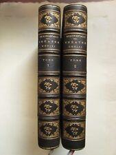THEÂTRE CHOISI DE BEAUMARCHAIS, 1881. 2 volumes demi maroquin.