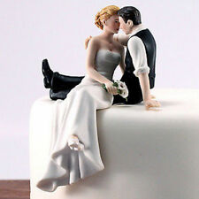 Bride and Groom Couple Wedding Cake Topper Love Favors Resin Figurine IW