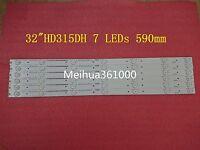 6 PCS LED strip Hisense_32_HD315DH-E81 B21 HE32NME9UX4012406497 7 LEDs 590mm