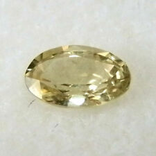 Australia Oval Yellow Loose Sapphires