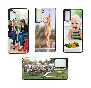 Personalised Samsung Case Rubber sided Cover A32 A42 A52 A72 S10 S20fe S20 Photo