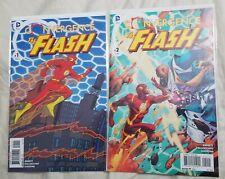 Convergence: Flash Complete Set #1 & 2 DC Comics M/NM