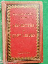 LES BOTTES DE SEPT LIEUES MATHILDE ALANIC ILL CHRISTIANCLERICE 1920 BOIVIN