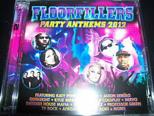 Floorfillers 2012 Various 2 CD Ft Katy Perry Kylie Minogue Coldplay Nervo TV Roc