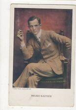 Bruno Kastner Vintage Postcard Actor 571a