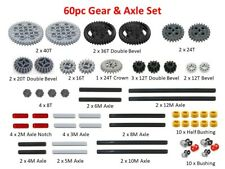 60pc LEGO Technic Gear & Axle SET MINDSTORMS EV3 NXT POWER FUNCTIONS lot pack