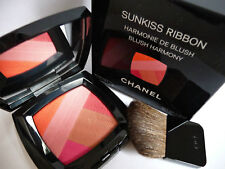 100 Authentic CHANEL Couture Sunkiss Ribbon Blush Harmony&brush Palete
