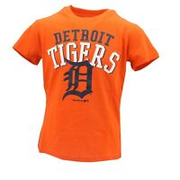 Detroit Tigers Baseball Official MLB Genuine Kids Youth Size T-Shirt New Tags
