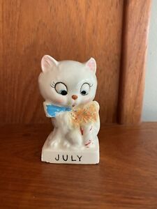HTF Norcrest July Birthday Cat Of The Month
