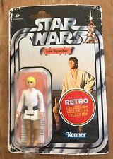 Star Wars - Luke Skywalker (Farmboy) Retro Figure (Hasbro) Like Kenner - NEW