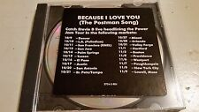 STEVIE B BECAUSE I LOVE YOU (THE POSTMAN SONG) RARE OOP PROMO CD