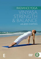 RADIANCE YOGA: VINYASA STRENGTH AND BALANCE – DVD, R-ALL- LIKE NEW-FREE POST