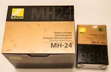 Nikon AkkuLadegerät MH-24 mit Akku EN-EL14a