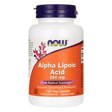 NOW FOODS Alpha Lipoic Acid 250 mg - 120 Veg Capsules - acido alfa lipoico