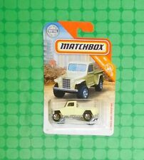 2019 Matchbox #31 - Construction - '51 Willys Jeep Pickup 4x4