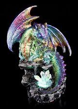 Figura De Dragón con LED - Aqurion cristales - Decoración Fantasía colores