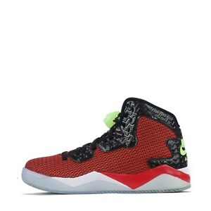 Air Jordan Spike Forty Men's Trainers Shoes Red Green