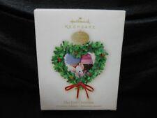 "Hallmark Keepsake ""Our First Christmas"" 2009 Ornament NEW"