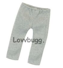 """Silver Sparkle Leggings for 18"""" American Girl Doll Clothes Lovvbugg Means Fun"""