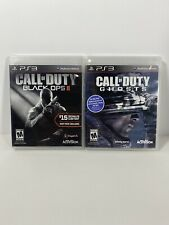 Call Of Duty Black Ops 2 And Ghost PLAYSTATION 3 (PS3) Action Shooter TESTED