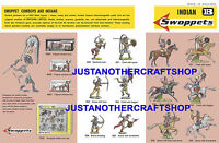 Britains Swoppets Indians 1960's A3 Poster Advert Shop Display Sign Leaflet