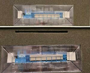 Atlas HO scale MP15 GATX Leasing, 2 DCC Sound Equipped Engines