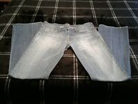 7 Seven for All Mankind Women's Blue Denim Bootcut Jeans size 30 USA