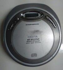 Durabrand Silver Cd-89 Portable Cd Player 60 Second Anti-Skip